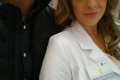 Vincent De Paul und Kirsten Lea
