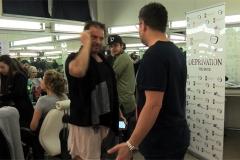 Chris Maier im Gespräch mit Costas Mandylor