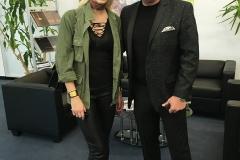 Model Lena Gercke und Harald Seiz