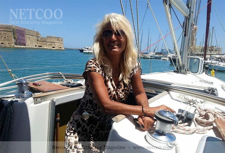 Katarina Hantzidou lebt in Griechenland
