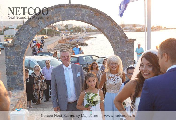 Katarina und Jörg auf der Hochzeit ihrer Tochter