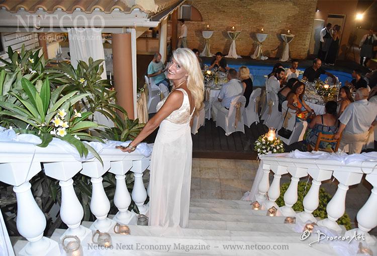 Auf der Hochzeit ihrer Tochter