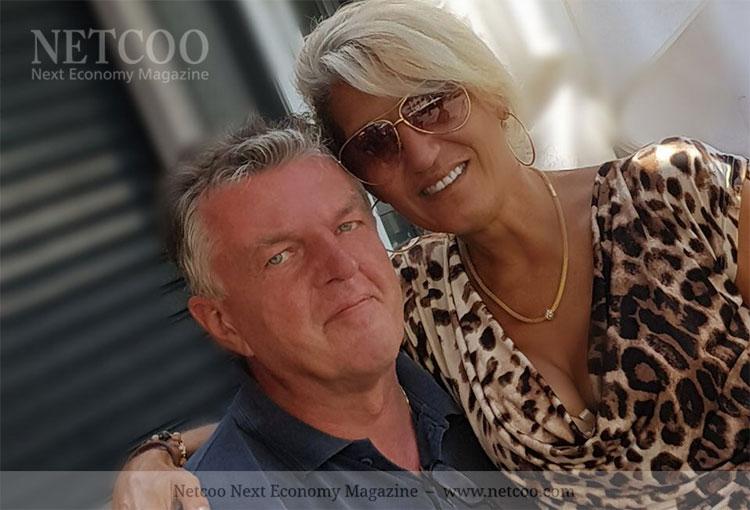 Katarina Hanzidou und Ehemann Jörg genießen das Leben