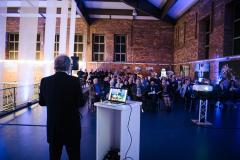 Ingolf Winter bei seinem Vortrag