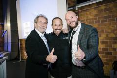 Ingolf Winter und Dr. Erich Ritter mit Michael Winter