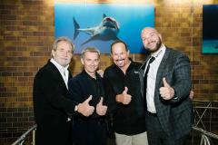 Ingolf Winter mit Thomas Redelberger, Dr. Erich Ritter und Michael Winter