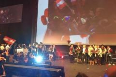 Ehrungen auf der Bühne