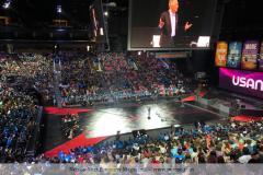 Gute Stimmung bei ca. 7.500 Teilnehmern.