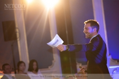 Sales Director Germany Tobias Nitzsche bei der Eröffnung