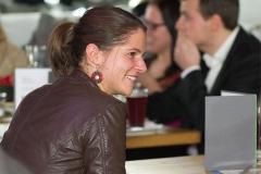 Julia Bauer auf einem Meeting