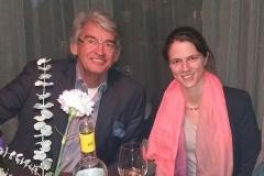 Wolfgang Sonnenburg gemeinsam mit Julia Bauer