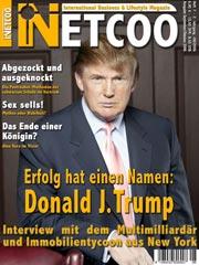 Das aktuelle Netcoo Magazin mit Donald J. Trump