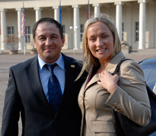 Martin Yandimoglu mit Frau
