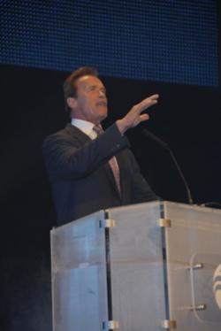Kalifornische Gouverneur Arnold Schwarzenegger