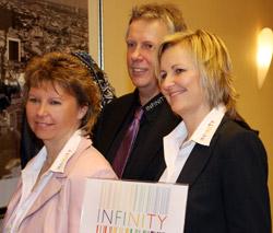 Marion Masholder, Thomas Bayer und Britta Kleine
