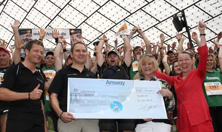Amway spendet 10.000 Euro!