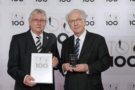 Dieter Stops und Prof. Dr. h.c, Lothar Späth