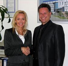 Lena Akerman und Rolf Sorg