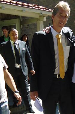 Harald Seiz und Mike Koschine
