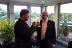 Rolf Sorg und Dr. Schwertner