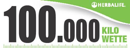 Herbalife 100.000 Kilo Wette