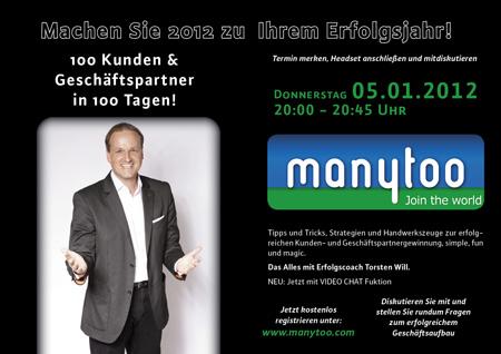 Torsten Will bei Manytoo.com