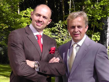Quantor Gründer Martin Pöche und Thomas Englert