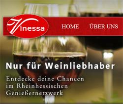 Vnessa Webseite
