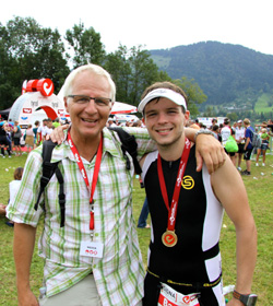 Theo Bergauer und Sohn Bastian
