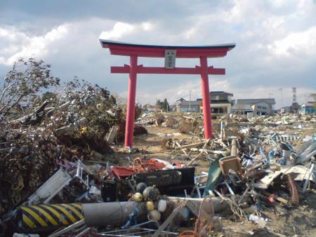 Zerstörungen durch das Erdbeben