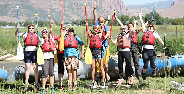 StampinUp Incentive-Trip SaltLakeCity 2013 Rafting