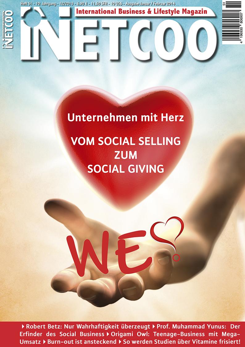 Cover Netcoo Magazin 12-2013