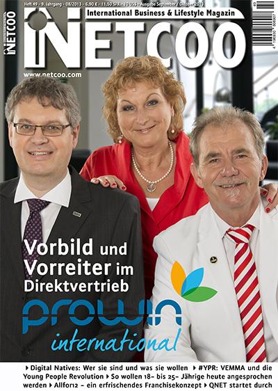 Cover Netcoo Magazin 08-2013