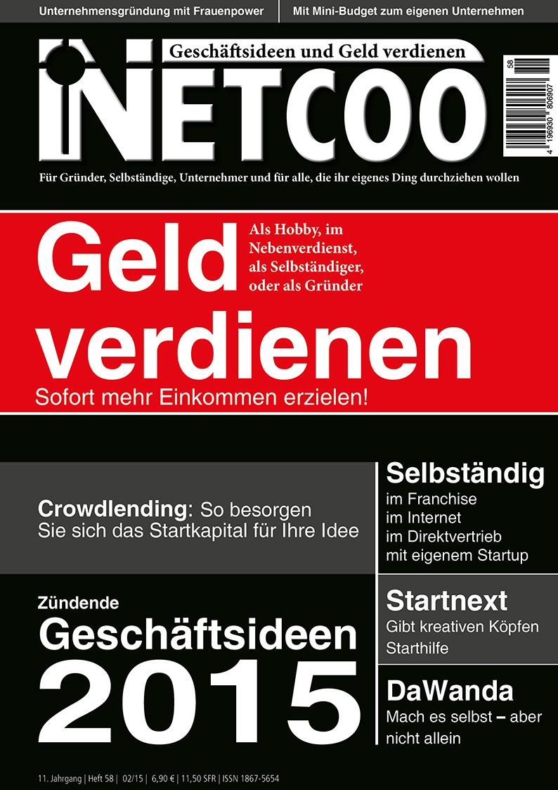 Cover Netcoo Magazin 02-2015