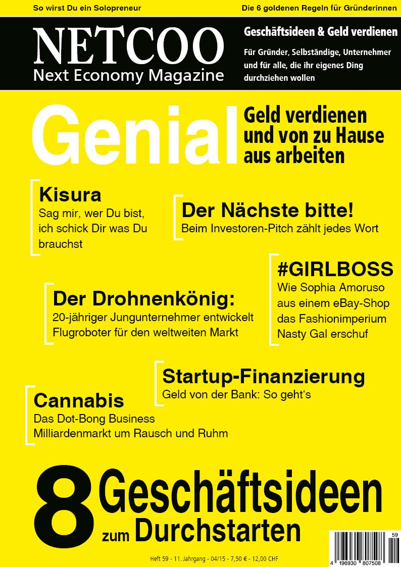 Cover Netcoo Magazin 04-2015