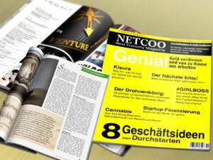 Cover und Inhalt Netcoo Magazin 04-2015