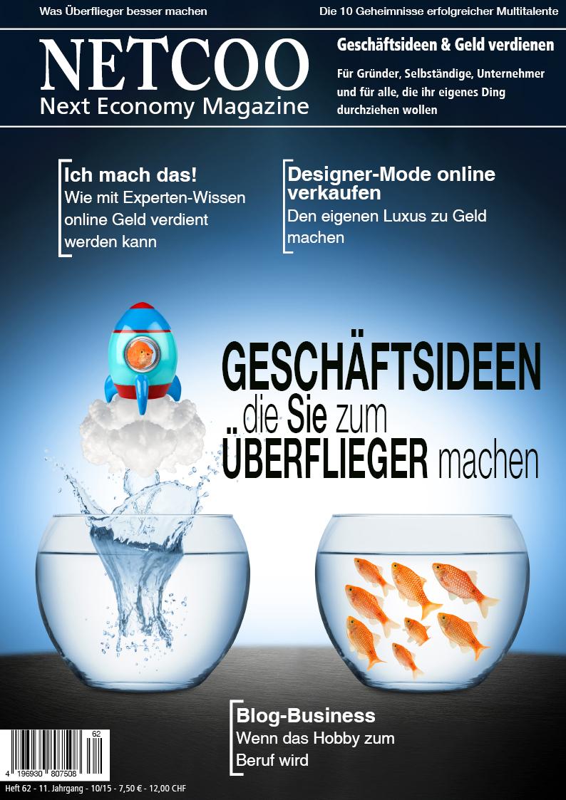 Cover Netcoo Magazin 10-2015