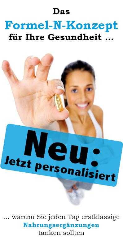 """Personalisierte Sonder-Edition """"Das Formel-N-Konzept für Ihre Gesundheit""""-0"""