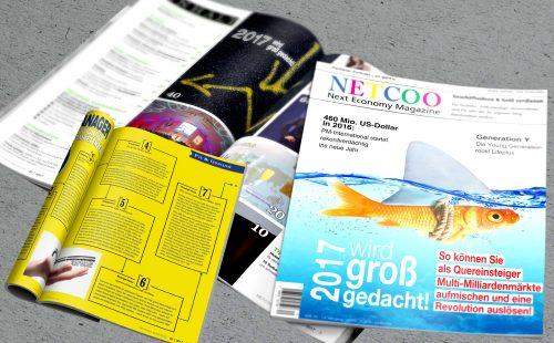 Netcoo Magazin Ausgabe März / April 2017