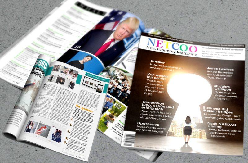 2d388ac5bf6df3 Jetzt im Handel  Netcoo Next Economy Magazine 04-2017 (Mai   Juni)