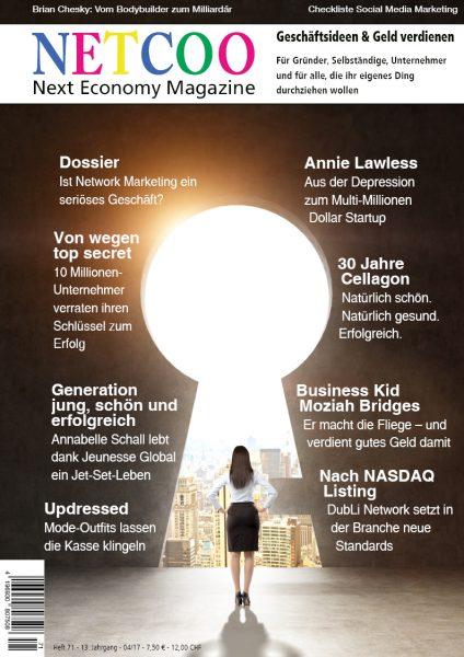 Cover Netcoo Magazin 04-2017
