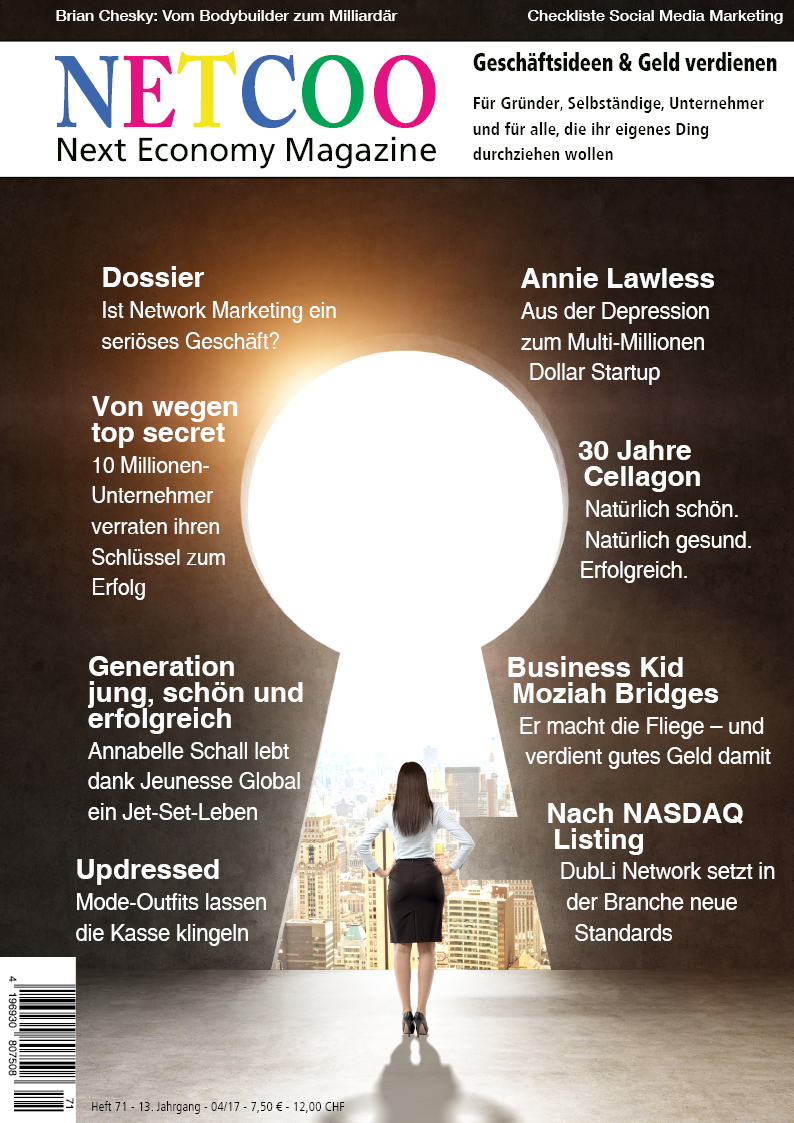 Cover Netcoo Magazin 04-2017