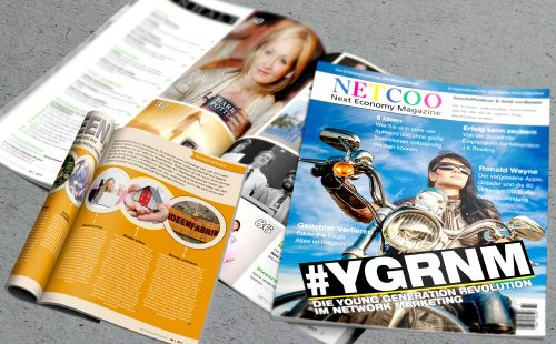 Cover und Inhalt Netcoo Magazin 06-2017