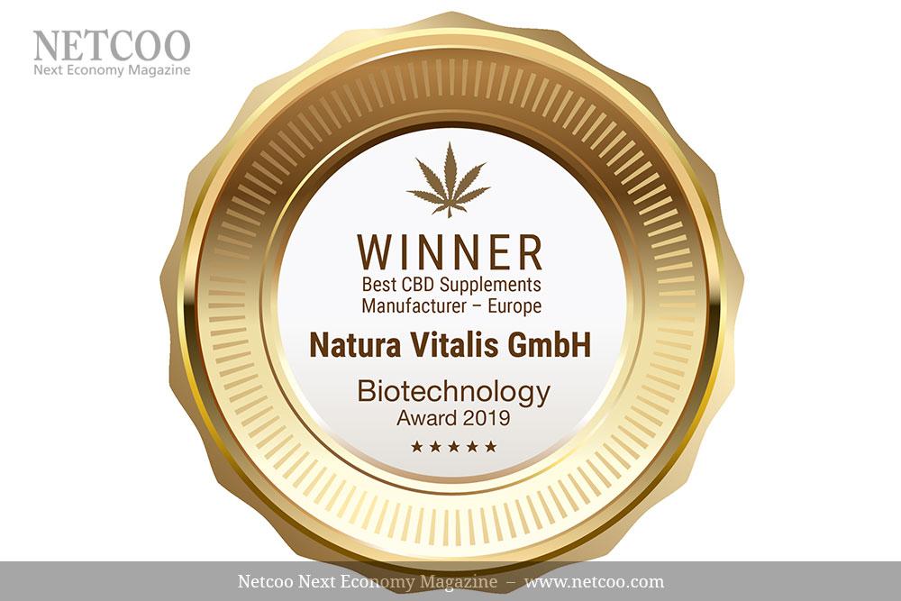 Der nächste Award: Natura Vitalis ist bester Hersteller von