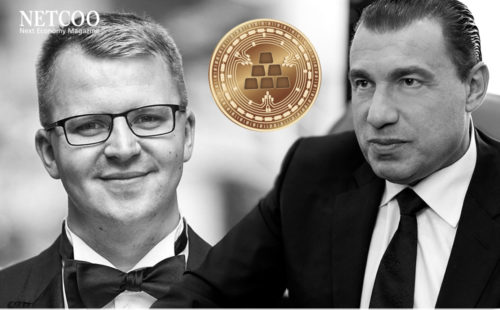 Marvin Steinberg and Karatbars Founder Harald Seiz