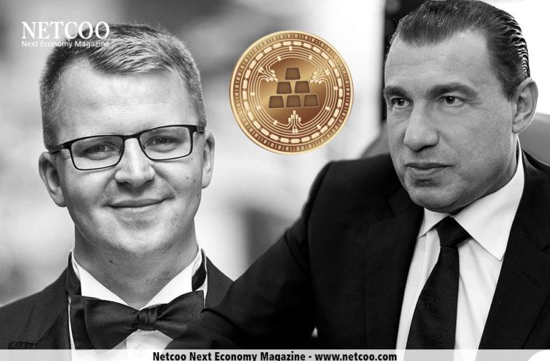 Marvin Steinberg und Karatbars Gründer Harald Seiz